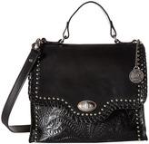 American West Hidalgo Top-Handle Convertible Flap Bag