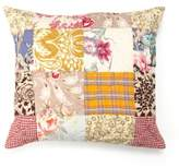 Amity Home Floral Patchwork Square Throw Pillow