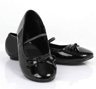 Rubie's Costume Co Rubie's Costumes Ballet Flat Black Shoes Girls' Child Halloween Costume Accessory
