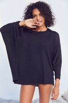 Out From Under Asymmetrical Cozy Tunic Top