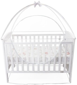 Babyhood Cot Canopy Net Large Size Cream