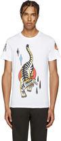 Diesel White T-Diego Tattoo T-Shirt