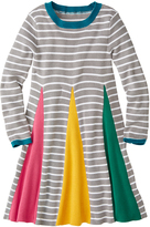 Hanna Andersson Mast Gray Oh Happy Day Sweater Dress