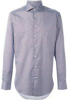 Etro micro print shirt - men - Cotton - 40