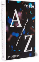 Phaidon Frieze A To Z Of Contemporary Art Hardcover Book - White