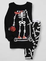 Gap Halloween skeleton sleep set