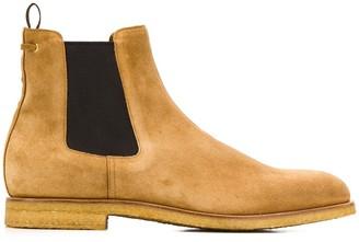 Car Shoe contrast Chelsea boots
