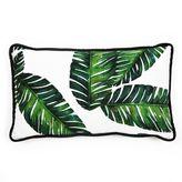 8 Oak Lane Botanical Leaf Pillow