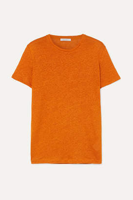 Ninety Percent Linen T-shirt - Orange