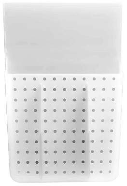 Made Smart madesmart Over Door Hair Tools Organizer with Dividers Gray