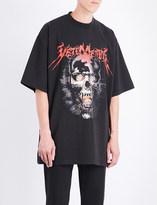 Vetements Heavy Metal cotton-jersey T-shirt