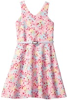 Us Angels Sleeveless Cut Away Fit and Flare Dress Girl's Dress