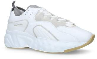 Acne Studios Leather Rockaway Sneakers