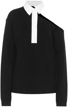 RtA Marla off-shoulder shirt