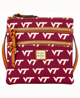 Dooney & Bourke Virginia Tech Hokies Triple-Zip Crossbody Bag