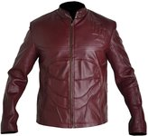 Classyak Men's Real Leather Daredevil fashion Jacket Large