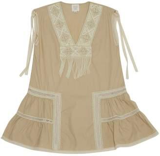 Anna Sui Beige Cotton Dresses