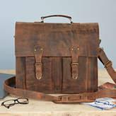Paper High Handmade Buffalo Leather Briefcase