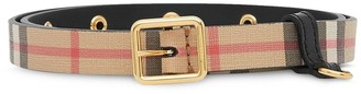BURBERRY KIDS D-ring belt