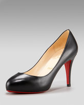 Delic 90 Crescent-Toe Pump
