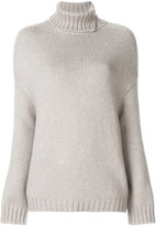 Loro Piana loose turtleneck jumper