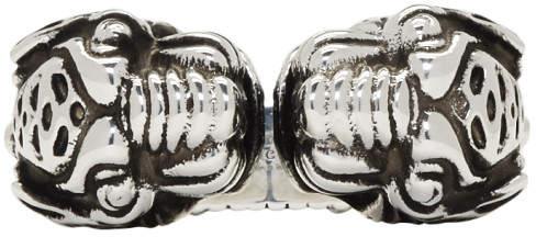 Gucci Silver Vintage Tiger Ring