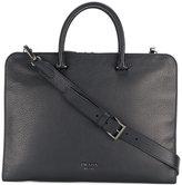 Prada top handle laptop bag