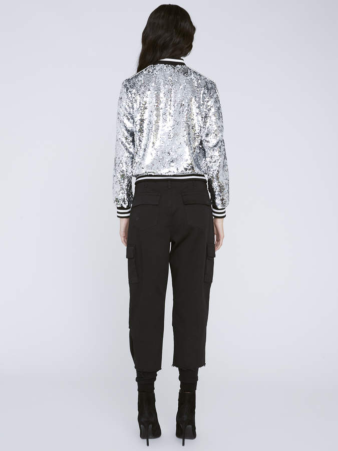 f124b7a70 LONNIE SEQUIN BOMBER JACKET