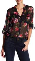 KUT from the Kloth Jasmine Sheer Floral