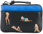 Alexander Wang pin-up print wallet - men - Calf Leather - One Size