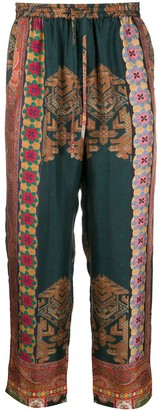 Pierre Louis Mascia All-Over Print Trousers