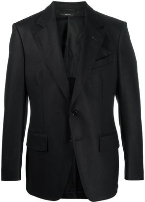 Tom Ford Single-Breasted Wool Blazer