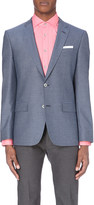 HUGO BOSS Extra slim-fit cotton-blend blazer