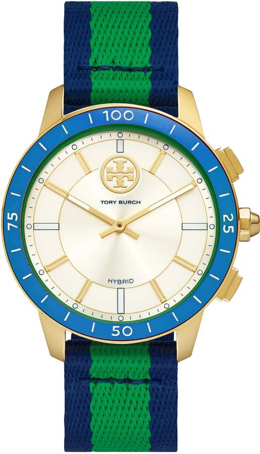 d90fddfad Tory Burch Blue Women's Watches - ShopStyle