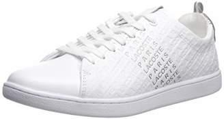 Lacoste Women's Carnaby EVO Sneaker Medium US