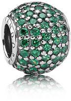 Pandora Green pavé ball charm