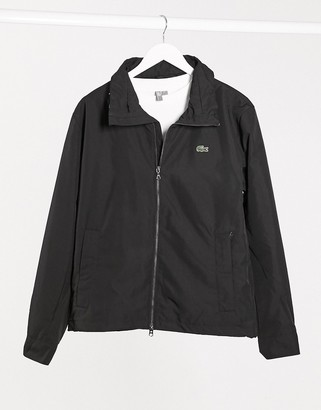 Lacoste lightweight jacket wtith concealed hood