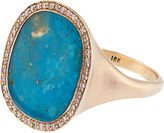 Monique Péan Diamond, opalina & white-gold ring