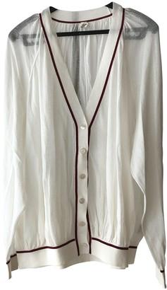 Hermes White Cotton Knitwear for Women