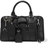 Loewe Amazona Multiplication Small Leather Tote Bag - Black