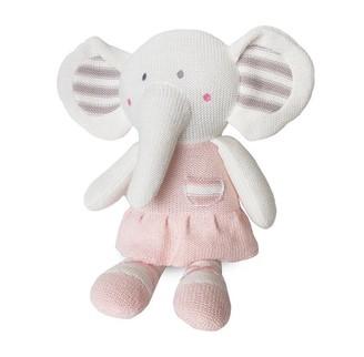 Living Textiles Lolli Living Knit Plush Elephant Amelia