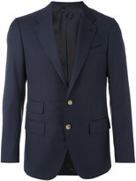 Caruso classic blazer - men - Cupro/Wool - 48
