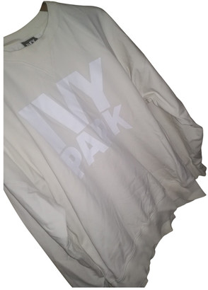 Ivy Park White Cotton Knitwear