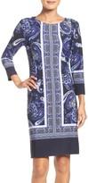 Donna Morgan Women's Jersey Shift Dress