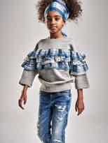 KIDS Diesel Sweatshirts 0QAQS - Grey - 10Y