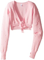 Bloch Bubble Knit Tie Sweater (Little Kids)