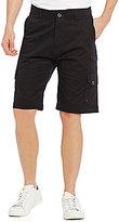 Iron Co. Trench Stretch Micro Twill Flex Waist Cargo Shorts