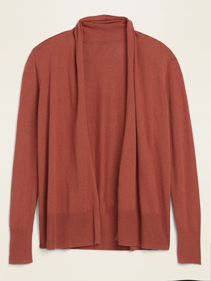 Old Navy Short Shawl-Collar Open-Front Sweater for Women