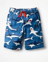 Boden Printed Board Shorts
