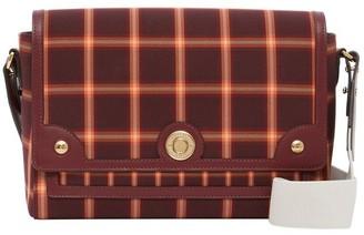 Burberry Tartan Technical Cotton Note Crossbody Bag